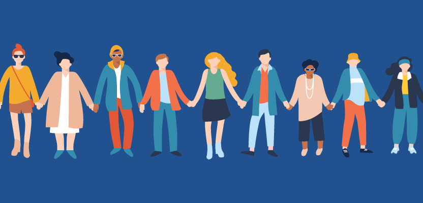 illustration: creating communities on social media